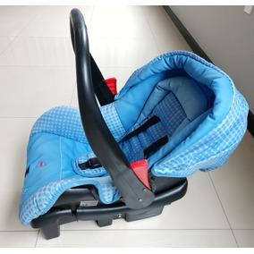 Bebê Conforto Galzerano Vizz Com Base - Azul - 0+: Até 13kg