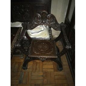 Cadeira Antiguidade Madeira Nobre