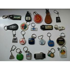 Lote Com 22 Chaveiros Antigos De Concessionárias De Veículos