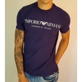 878daa60867 Camiseta Armani Jeans Emporio Armani Armani Exchange