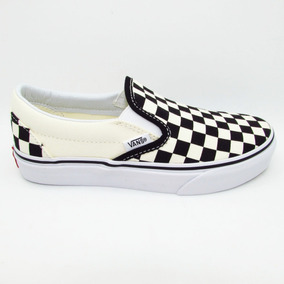 Tenis Vans Slip On Classic Vn000eyebww Checkerboard Unisex