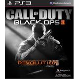 Call Of Duty Black Ops Ii + Mapas Revolution Ps3 (no Disco)