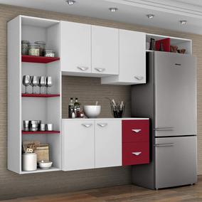 Cozinha Compacta 4 Peças 5 Portas Anabela Siena Edwt