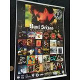 Poster De Coleção Raul Seixas Discografia Cd Raul Seixas