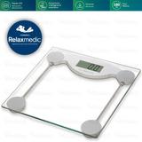 Balanca Digital De Banheiro Vidro Temperado 180 Kg - Fitness