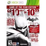 .:: Batman Arkham City Goty Seminuevo ::. Xbox 360