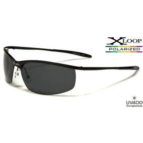 Gafas Polarizadas X-loop 100% Filtro Uv-400 Marco De Niquel