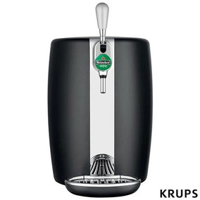 Chopeira Beertender Krups Heineken 5l Preto B101_chop 220v