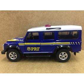 Miniatura Land Rover Defender Da Polícia Rodoviária Federal