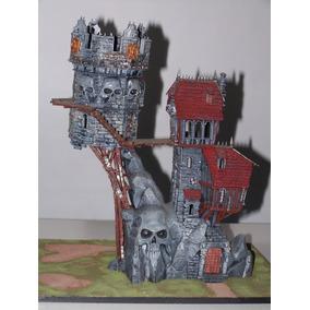 Warhammer Mansión Calavera - Original Armado Y Pintado