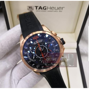 63730589fef Relogio Tag Heuer Ouro Rose Masculino - Relógios De Pulso no Mercado ...
