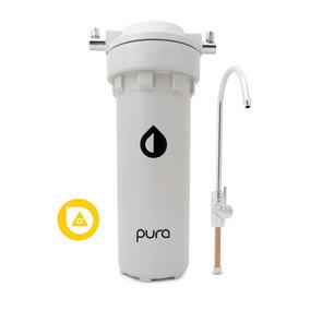 Purificador Agua Pura H2o Filtro Bajo Mesada Elimina Cloro
