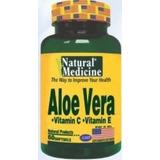 Aloe Vera Con Vitamina C + Vitamina E , 60 Capsulas - Natura