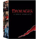 Damages Box 1ªà 5ª Temporadas Série Completa 15 Dvds Lacrado