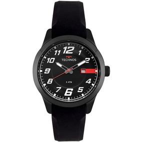 Relógio Masculino Technos Racer 2115mov/8p 45mm Silicone Pre
