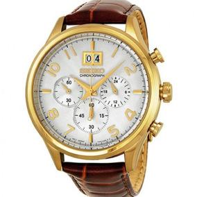 9f787809eba Relógio Seiko Com Cronógrafo Pulseira De Couro - Relógios no Mercado ...