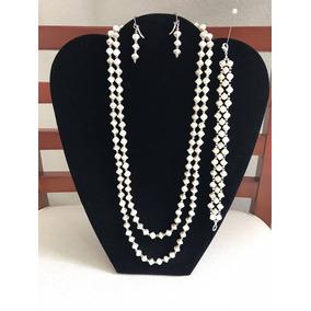 e7a8152d489b Collar De Perlas Varios Hilos Fantasia - Joyería en Mercado Libre México