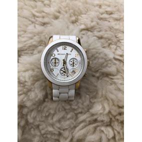 Relogio Michael Kor Mk5145 Branco - Relógio Michael Kors no Mercado ... 4ffd1587c2