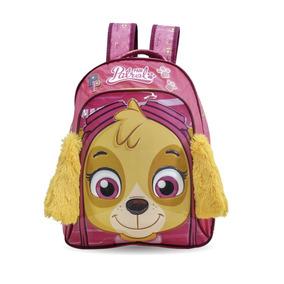 Mochila Patrulha Canina G Original Skye Infantil 7322
