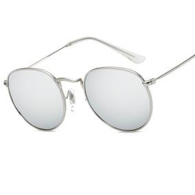 929c7dc6a983d Oculos Redondo Tumblr Espelhado Armacoes - Óculos no Mercado Livre ...