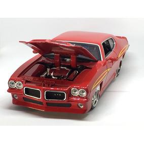 Miniatura Pontiac Gto 1971 Escala 1/24