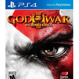 Juego God Of War 3 Remasterizado Ps4 Nuevo Físico Sellado