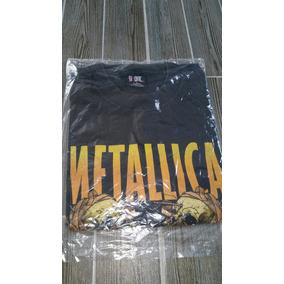 Playera Metallica Tour 2000s Importada Original Talla L