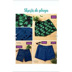 Falda Short Dama Andrea Hojas 139-8953 Pv-19 Sexy Casual