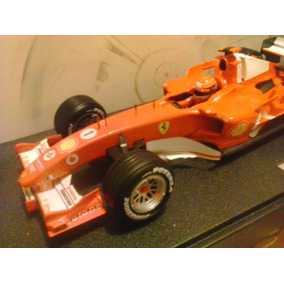 Carro Hot Wheels Ferrari F1 Michael Schumacher F2005 1:18