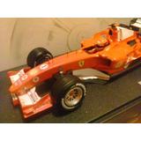 Carro Hot Wheels Ferrari F1 Michael Schumacher F2005 1:18