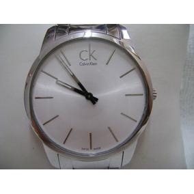 Reloj Calvin Klein Original Suizo De Cuarzo Seminuevo Jumbo