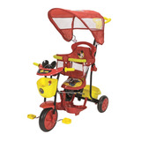 Triciclo Infantil Disney Mickey Rojo Xg-8001