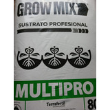 Sustrato Grow Mix Multipro Tierra Fértil 80l Fertilizado