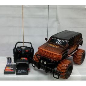 Camioneta Hummer Mud Singer Radio Control.1/14. New Brigth.!