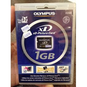 Cartão De Memória Olympus Xd Original Lacrado 1gb Pronta Ent