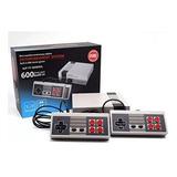 Consola Nintendo Retro Mini 2controles 600 Juegos Inlcuidos