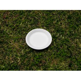 Platos Biodegradables Desechables 15cm 1000 Pzs