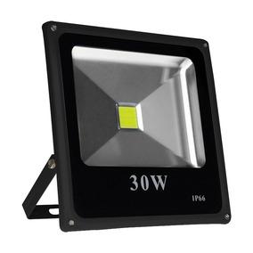 Refletor Led Holofote 30w Resistente Água Branco Frio