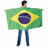 Bandeira Brasil 90x1,40m 100% Poliéster