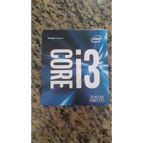 Procesador Intel I3 6100 3.7 Ghz Lga 1151 6ta