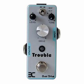 Pedal Overdrive Enotrouble Tc-16 Efeito Guitarra Truebypass