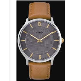 95604f96894b Timex Reloj De Hombre Metropolitan Brown Leather Tw2r49700