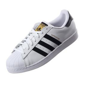 reputable site 8a09e 0352c Tenis adidas Superstar Concha Blanco Con Negro Envío Gratis