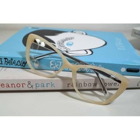 da68133e695b3 Oculos Com Armacao De Marfim - Óculos no Mercado Livre Brasil