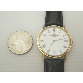 Baume & Mercier Ultra Fino Ouro 18k