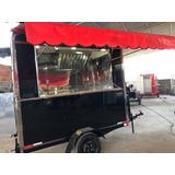 Food Truck - Trailer - Carretas E Reboque - Fino Acabamento