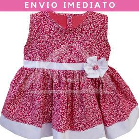 Vestido Vermelho Bebe - Vestidos de Bebê no Mercado Livre Brasil f7de652a3fb18