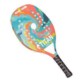 Raquete De Beach Tennis Titan Explosion Carbon 25mm