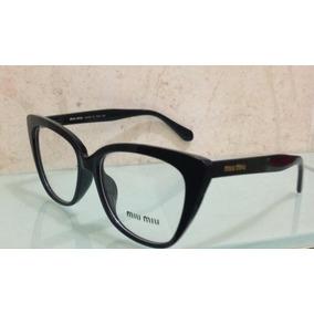 e3cf1069b0d0b Armacao De Oculos De Grau De Marcas Famosas Miu - Óculos no Mercado ...