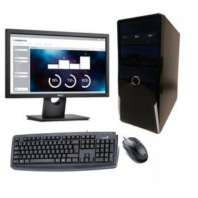 Computadora Intel I3-8100/ 4gb Ram/ 1 Tb Disco/ Monitor 18.5